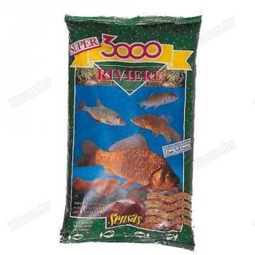 Прикормка Sensas 3000 Riviere 1 кг (Река)